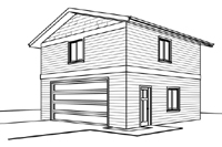 2430-bg Garage Plan