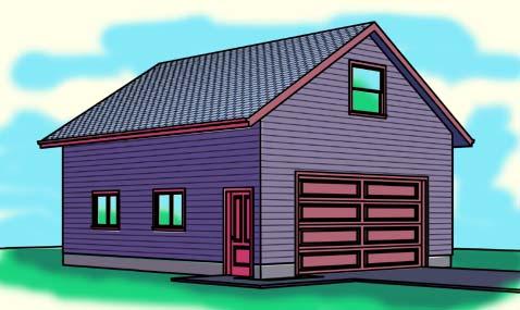 all garage plans at garageplans123 – 24X28 Garage Plans