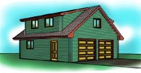 2828-cb Garage Plan